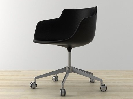 Flow armchair 5-star base 20