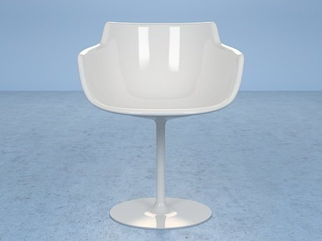 Flow armchair-central leg 18