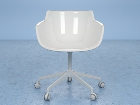 Flow armchair 5-star base 17