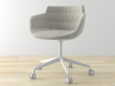 Flow armchair 5-star base 9