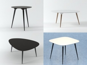 Icicle table series