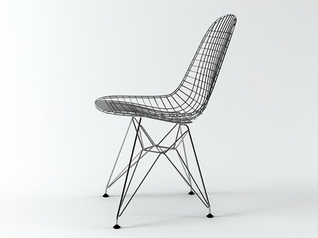 Wire Chair DKR 9