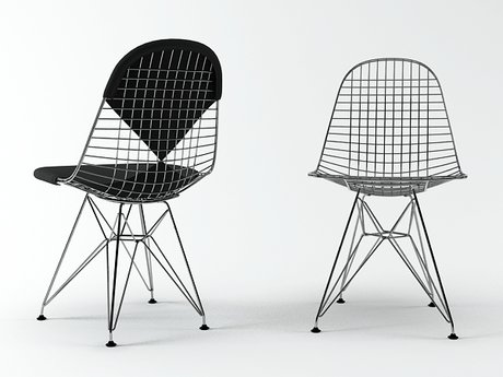 Wire Chair DKR 3