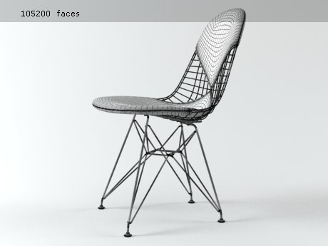 Wire Chair DKR 19