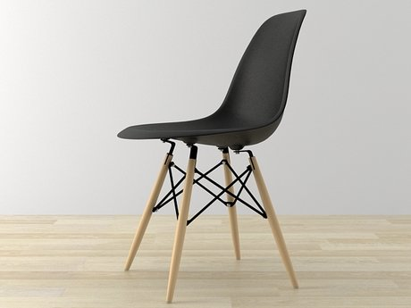 Eames Plastic Chair DSW 2
