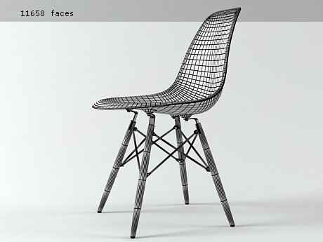 Eames Plastic Chair DSW 12