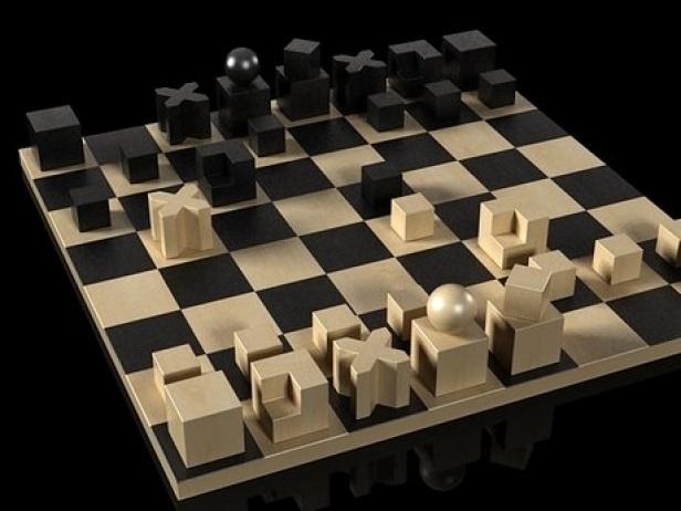 Bauhaus Chess Pieces 3d Model Naef Toys Switzerland