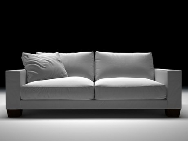 status sofa 02 3d modell flexform. Black Bedroom Furniture Sets. Home Design Ideas