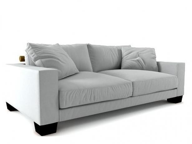 status sofa 02 3d model flexform. Black Bedroom Furniture Sets. Home Design Ideas