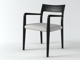 Flip dining armchair