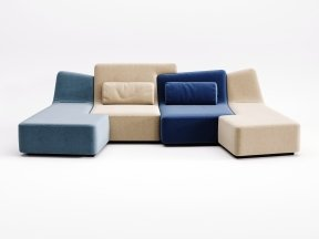 Confluences 2 4-Seater Sofa