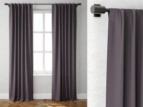 Cotton Canvas Curtains