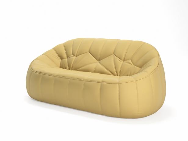 Ottoman 2-Seater Sofa 2