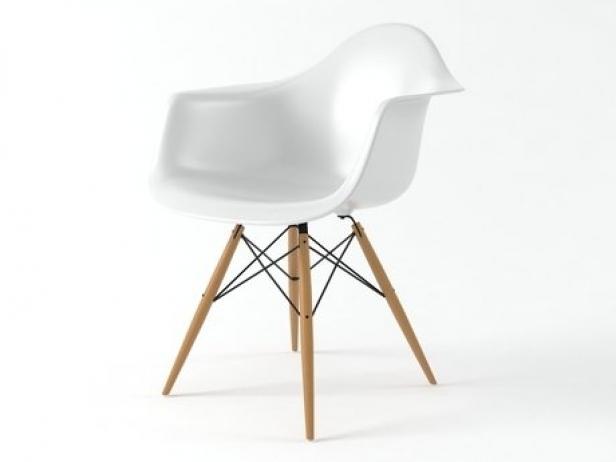 eames plastic armchair daw 3d model vitra. Black Bedroom Furniture Sets. Home Design Ideas