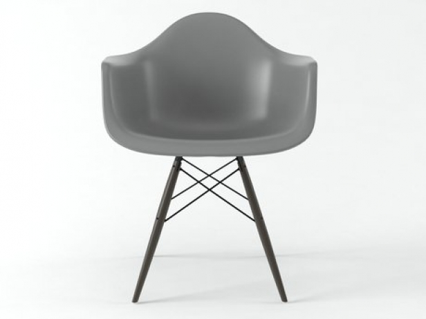 eames plastic armchair daw 3d model vitra. Black Bedroom Furniture Sets. Home Design Ideas