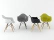 Eames Plastic Armchair DAW 1