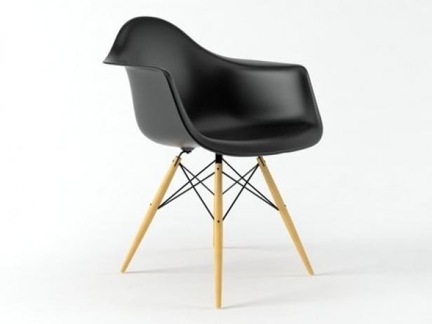 Eames Plastic Armchair DAW 4