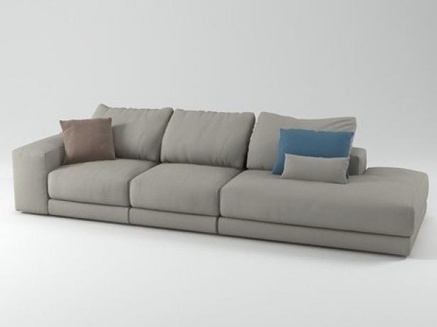 hills sofa 8 3d modell swan. Black Bedroom Furniture Sets. Home Design Ideas