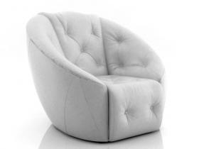 Avec Plaisir tacked armchair
