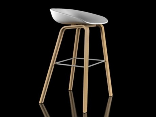 About A Stool 3d Model Hay Denmark