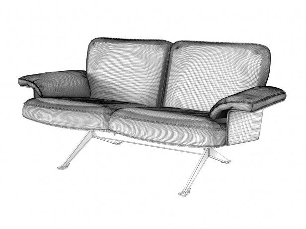 DS-31/102 2-Seater Sofa 4