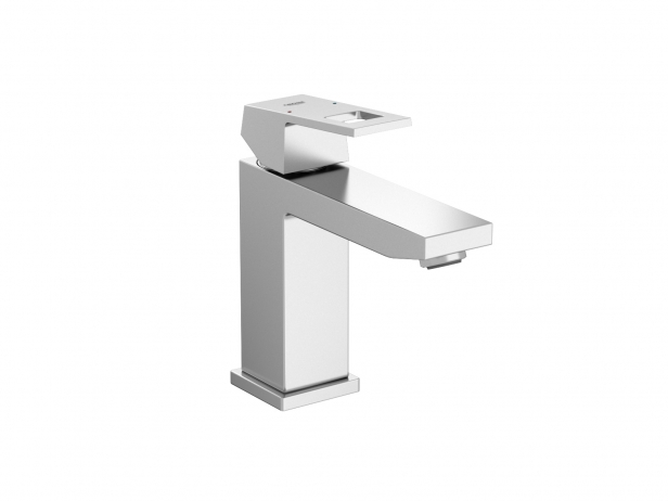 Cube Semi-recessed Basin 60 Set 3