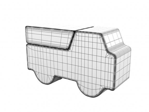 Softruck Footstool 4