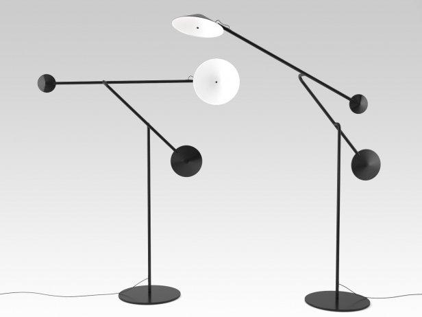 Cinétique Floor Lamp 1