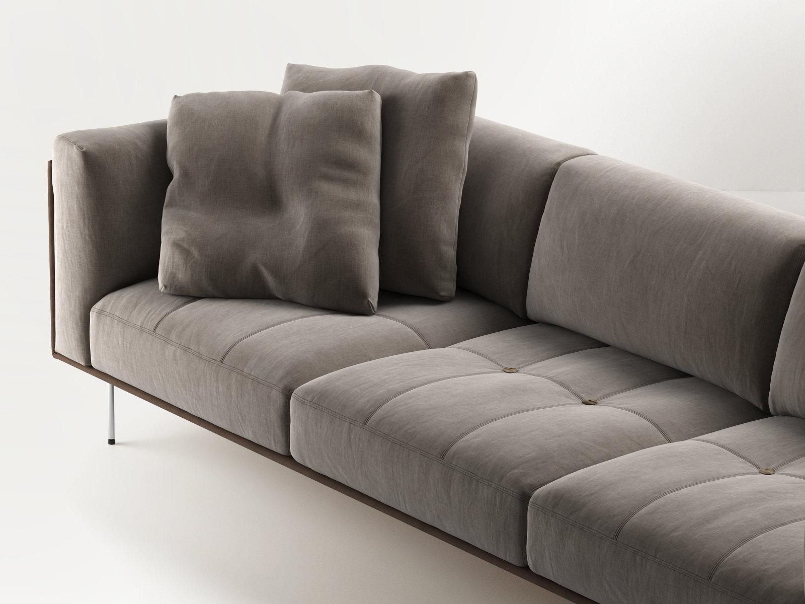 rod sofa 240 modello 3d living divani. Black Bedroom Furniture Sets. Home Design Ideas