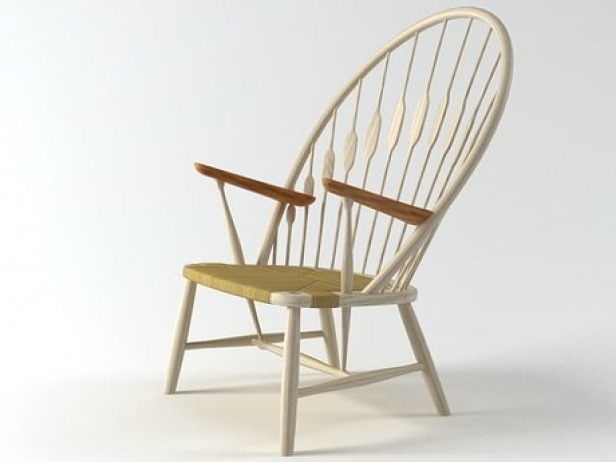 PP550  Peacock Chair 6