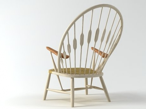 PP550  Peacock Chair 1
