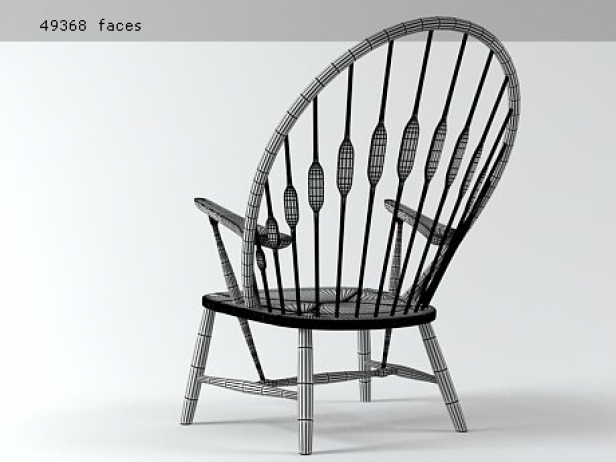 PP550  Peacock Chair 8