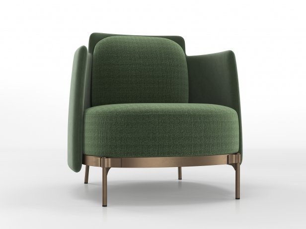 Tape Armchair with Armrests 3