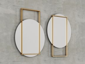 Pendulum Wall Mirror