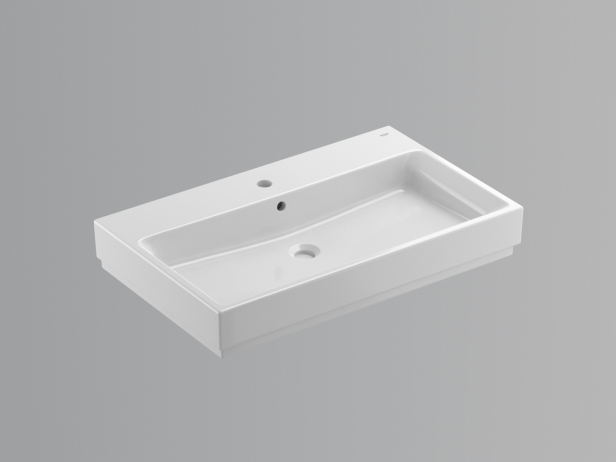 Cube Wall-hung Basin 80 Set 3