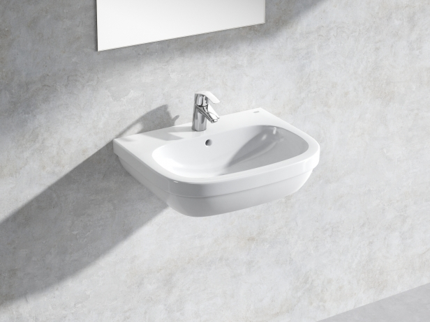 Euro Wall-hung Basin 60 Set 1
