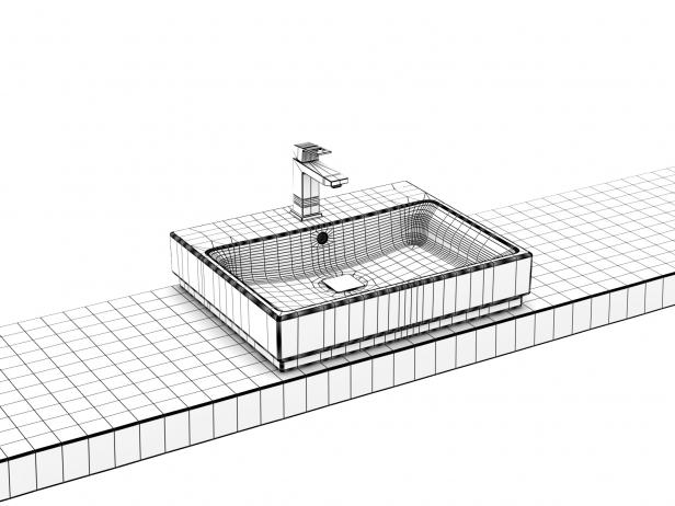 Eurocube Countertop Basin 60 Set 5