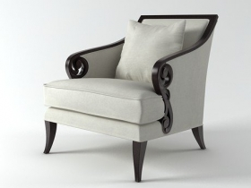 Scroll Armchair