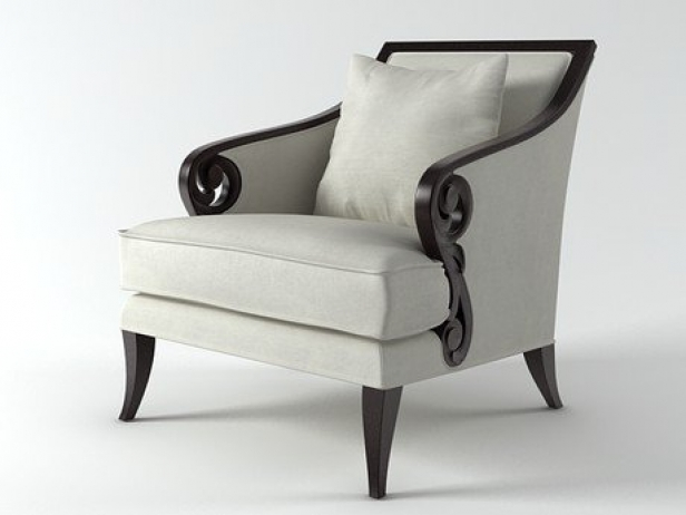 Attirant Scroll Armchair 1