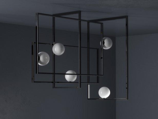 Mondrian Pendant Lamp 4