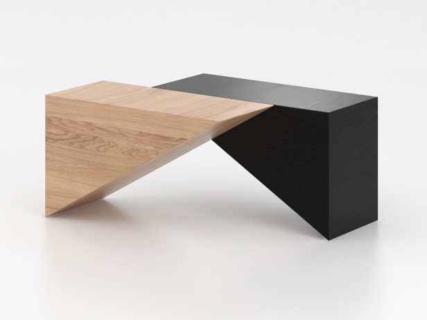 Triangle Table 3d model | Atelier Areti