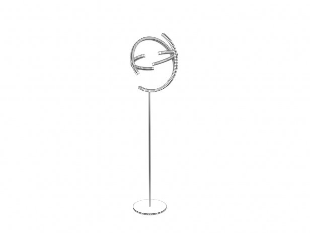 Atom Straight Floor Lamp 3