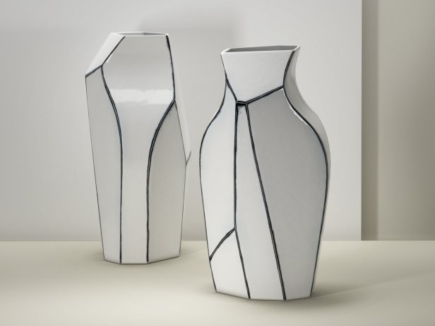 Polygon Vase 3d Model Ligne Roset France
