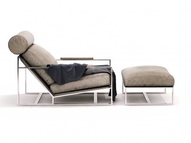 Cruisin Lounge Chair & Ottoman 8