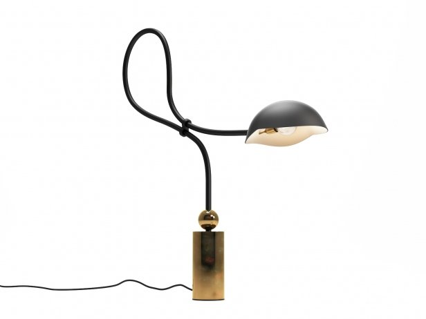 Curved Neck Table Lamp 3