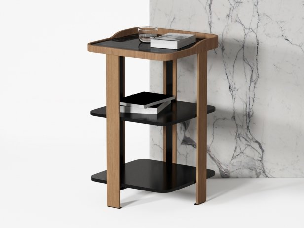 Postmoderne Bedside Table 1