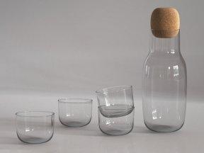 MUUTO Corky Glass Carafe