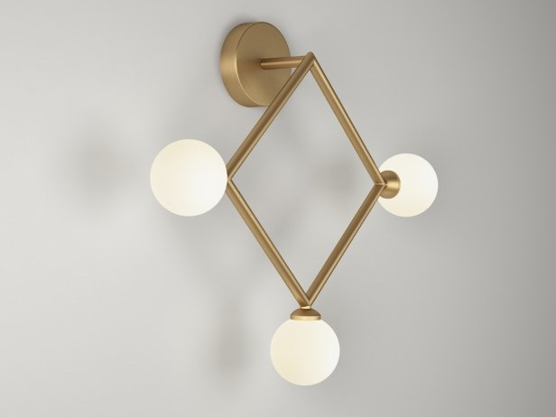 Square Wall Lamps 2