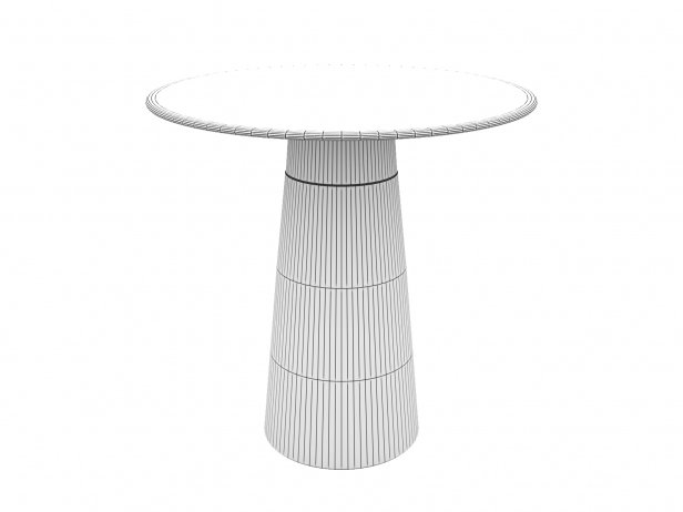 Zock Pedestal Table 3