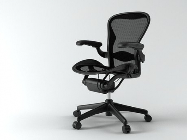 cbd64e1c99f90 Aeron chair 3d model